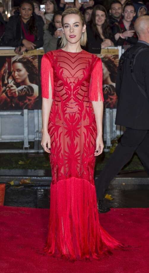 """Jena Malone attends the UK Premiere of """"The Hunger Games: Catching Fire"""" at Odeon Leicester Square on November 11, 2013 in London, England. Photo: Mark Cuthbert, UK Press Via Getty Images"""