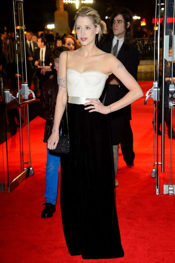 "Peaches Geldof attends the UK Premiere of ""The Hunger Games: Catching Fire"" at Odeon Leicester Square on November 11, 2013 in London, England. Photo: Dave J Hogan, Getty Images"