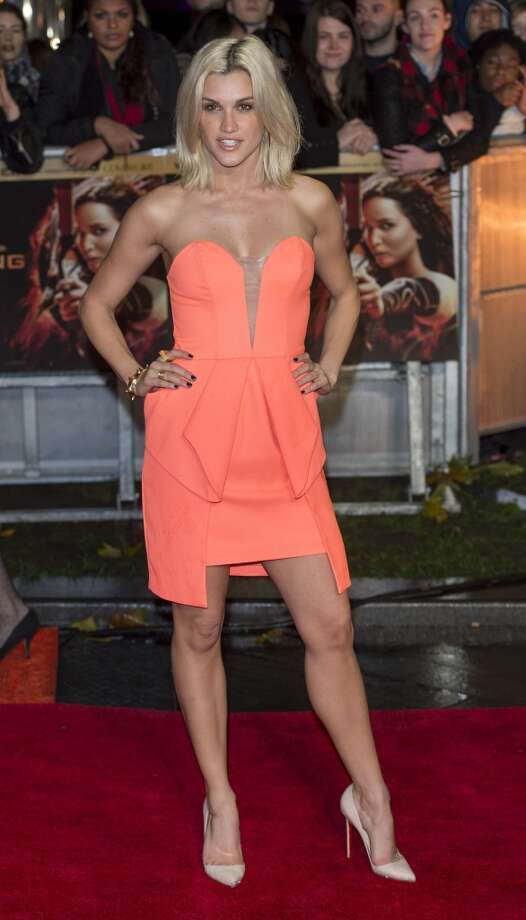 "Ashley Roberts attends the UK Premiere of ""The Hunger Games: Catching Fire"" at Odeon Leicester Square on November 11, 2013 in London, England. Photo: Mark Cuthbert, UK Press Via Getty Images"