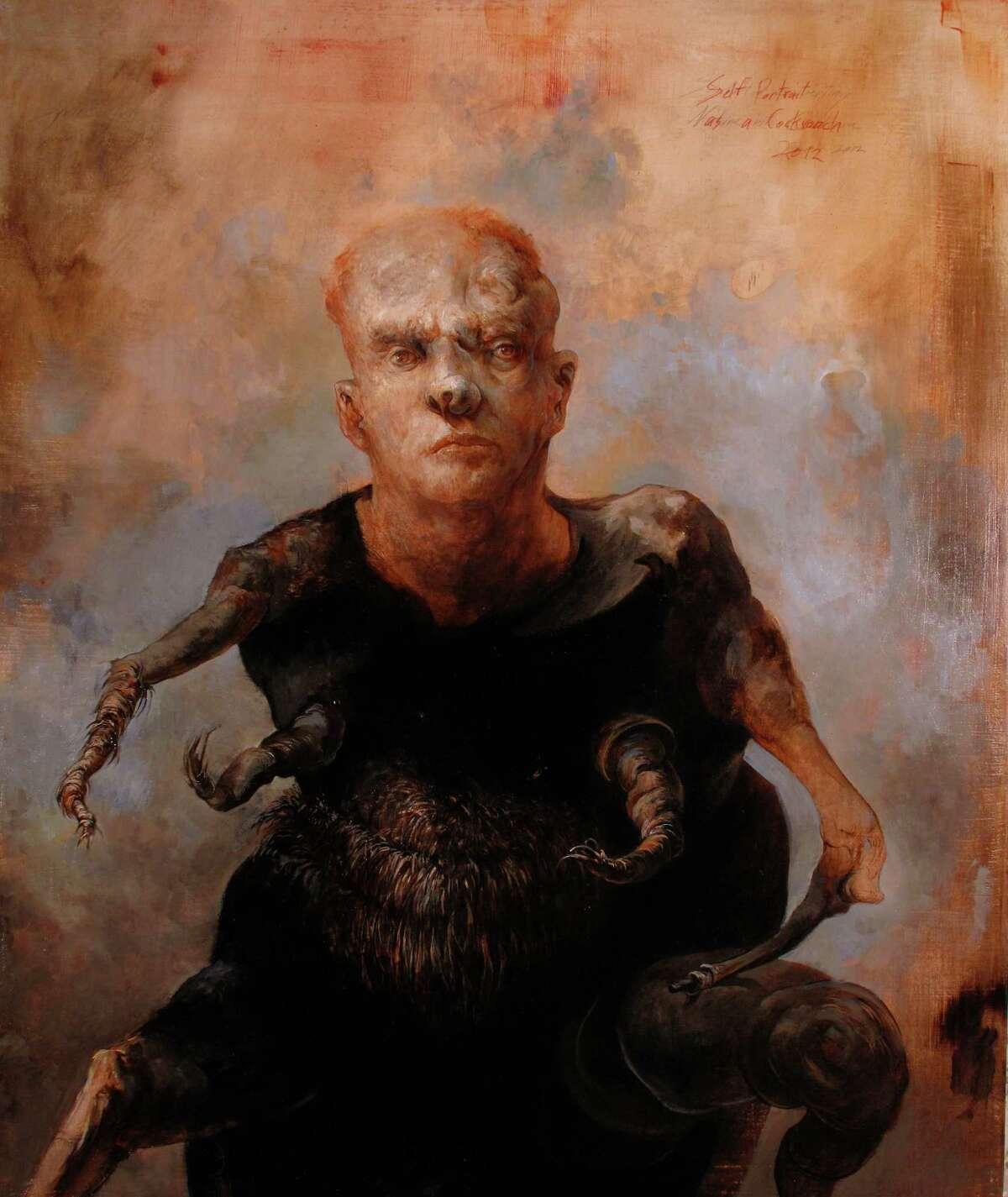 Galveston-based artist Mark Greenwalt will talk about his work Nov. 12 at the Galveston Arts Center.
