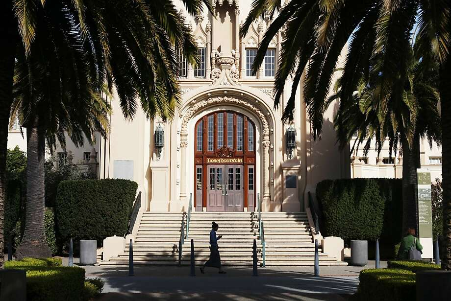 USF's main building dates to 1932, when it was built for the San Francisco College of Women. Photo: Pete Kiehart, The Chronicle