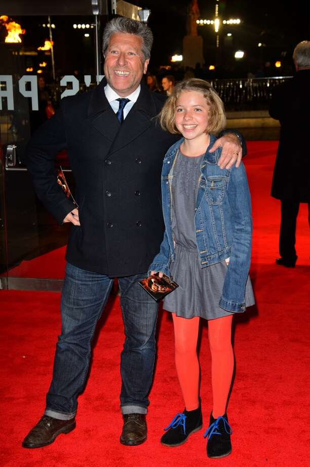 "(L-R) Neil Fox and Scarlett Fox attends the UK Premiere of ""The Hunger Games: Catching Fire"" at Odeon Leicester Square on November 11, 2013 in London, England. Photo: Dave J Hogan, Getty Images"