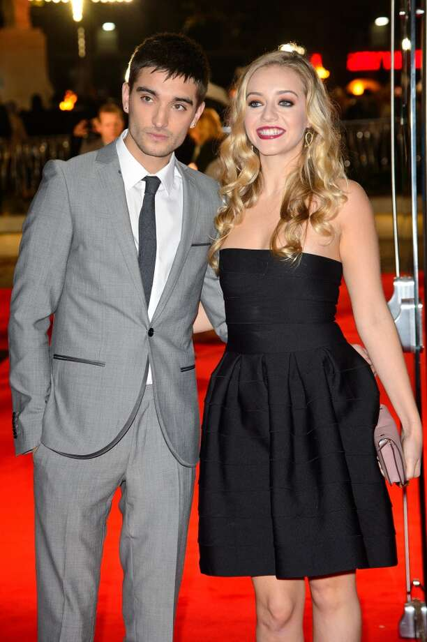 "(L-R) Tom Parker and Kelsey Hardwick attend the UK Premiere of ""The Hunger Games: Catching Fire"" at Odeon Leicester Square on November 11, 2013 in London, England. Photo: Dave J Hogan, Getty Images"