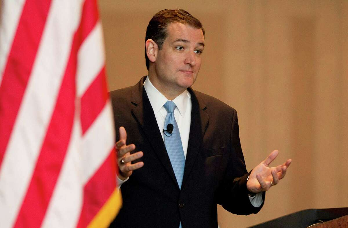 """Sen. Ted Cruz was unapologetic about his approach. Talking to reporters after his speech, he said, """"My focus isn't Washington, D.C., or party bosses. It's the 26 million Texans."""""""