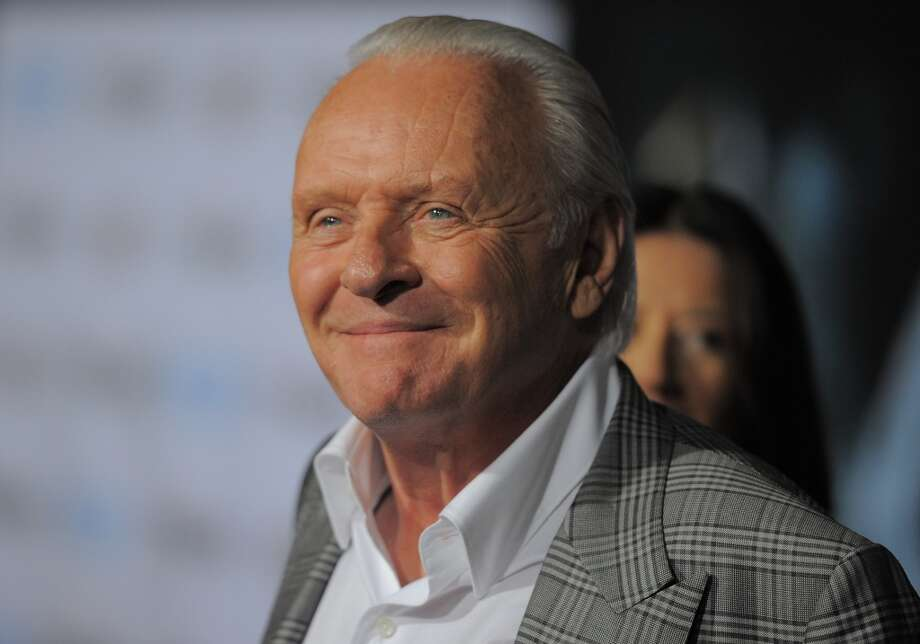 Anthony Hopkins -- beautiful, flexible, Welsh voice. Photo: JOE KLAMAR, AFP/Getty Images