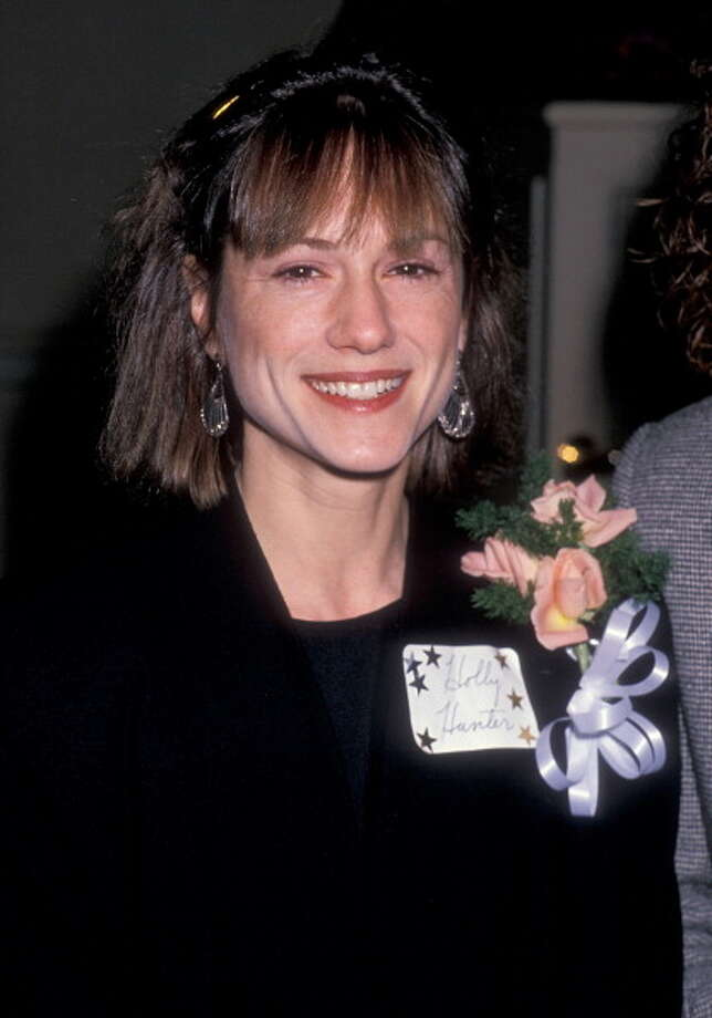 Holly Hunter -- great Southern voice.  No one sounds anything like her. Photo: Ron Galella, WireImage / 1989 Ron Galella, Ltd.