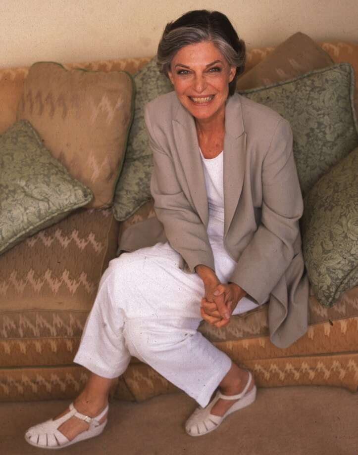 Anne Bancroft -- low, sultry voice. Photo: WYATT COUNTS, Associated Press