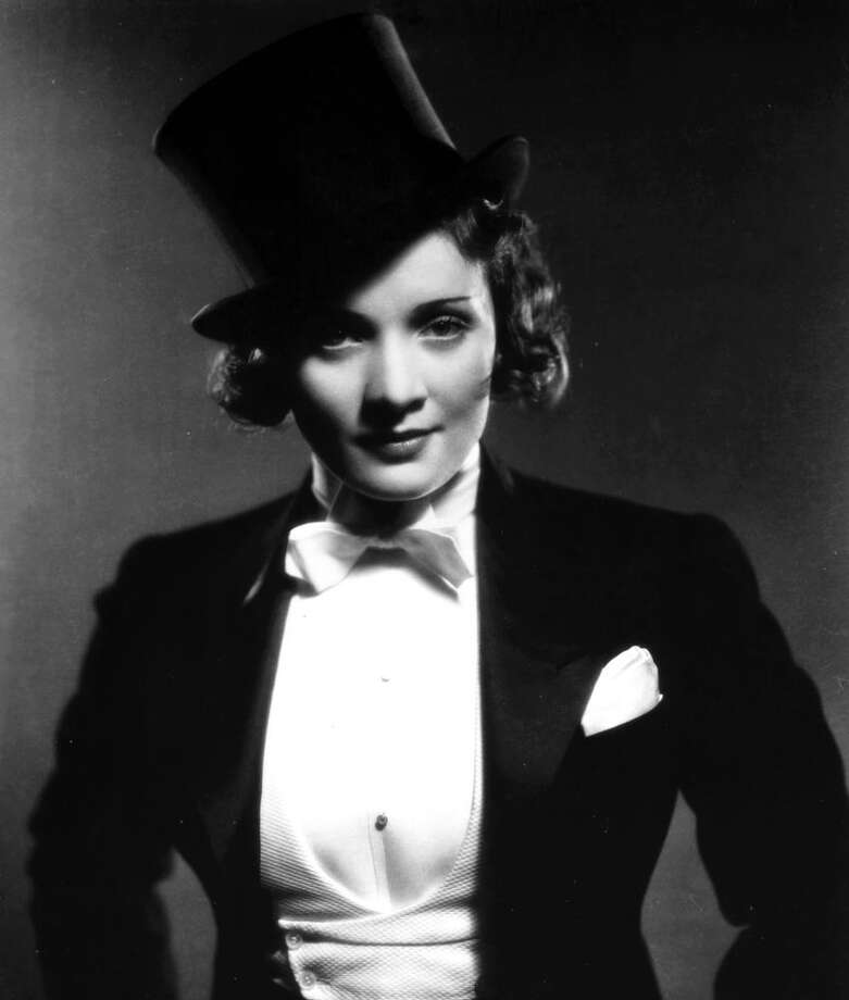 Marlene Dietrich -- low, German inflected, arresting. Photo: PFA