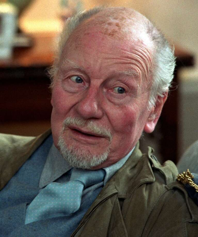 John Gielgud -- baritone voice, considered one of the best verse readers of his time. Photo: Ap, SFC