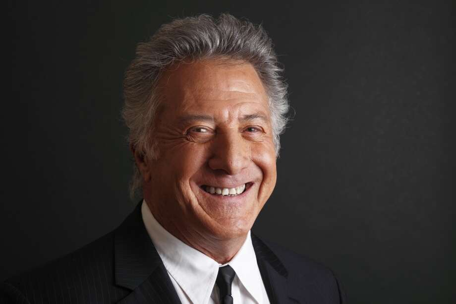 Dustin Hoffman -- deep, worried, very New York. Photo: Danny Moloshok, Associated Press