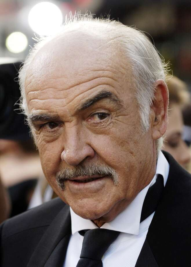 Sean Connery -- Scottish, unmistakable. Photo: CHRIS PIZZELLO, AP