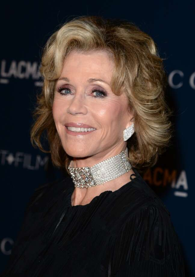 Jane Fonda -- unmistakable, she sounds like the voice of reason no matter what she's saying. Photo: Jason Merritt, Getty Images For LACMA