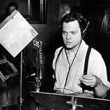 Orson Welles -- the great American voice of the century.