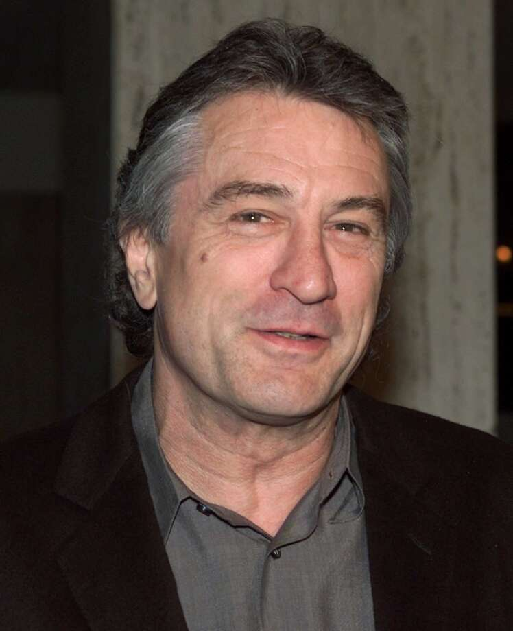 Robert De Niro -- is he talking to you?  Is he talking to you?  He must be talking to you, because there's nobody else here. Photo: FRED PROUSER, REUTERS