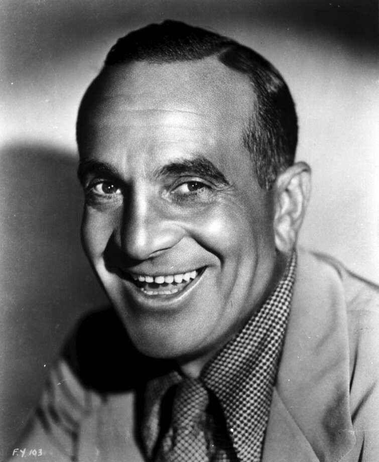 Al Jolson -- foghorn of a voice, whether singing or talking. Photo: Film Favorites, Getty Images