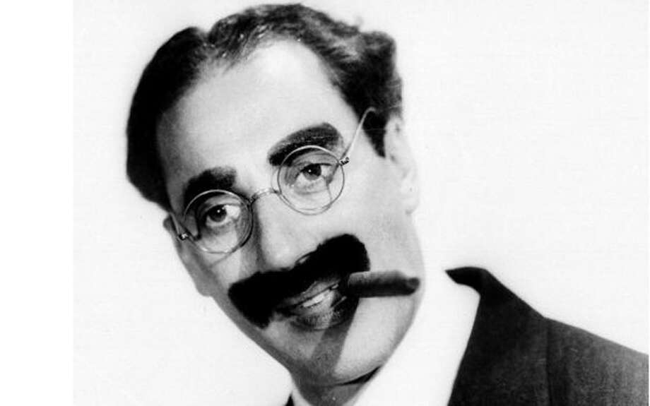 Groucho Marx -- very old time New York.  Actually he sounded just like my maternal grandfather. Photo: Handout