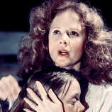 Piper Laurie -- a stentorian voice that could be used for terrifying effect, notably in CARRIE.