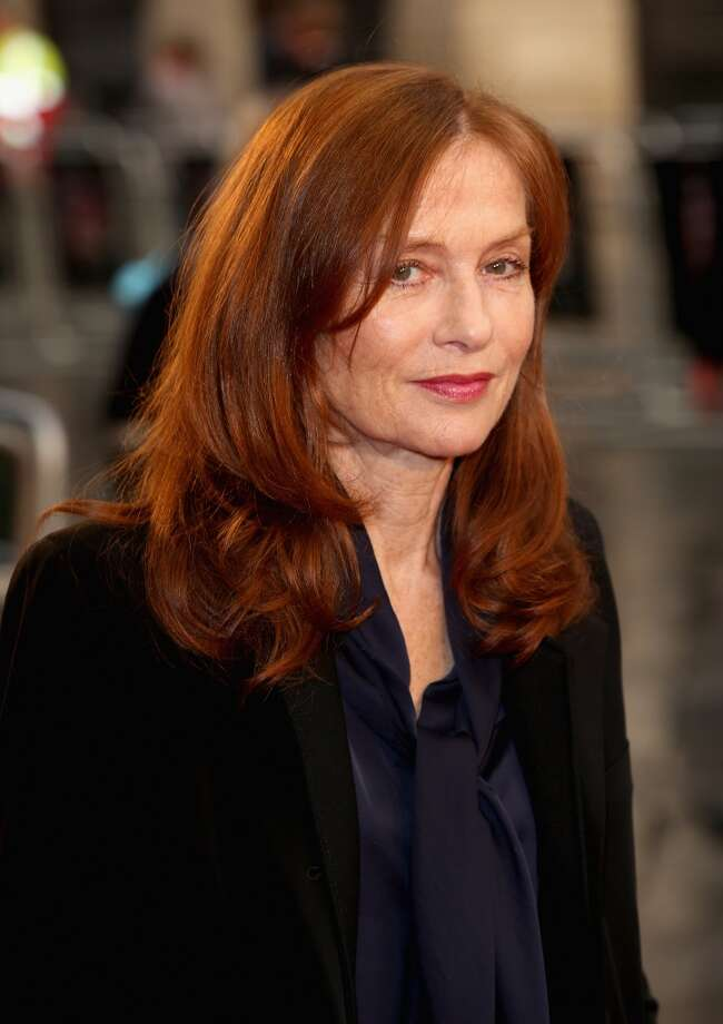 Isabelle Huppert -- the opposite of Tedeschi.  Huppert is tiny, but her voice is deep and knowing. Photo: Tim P. Whitby, Getty Images For BFI