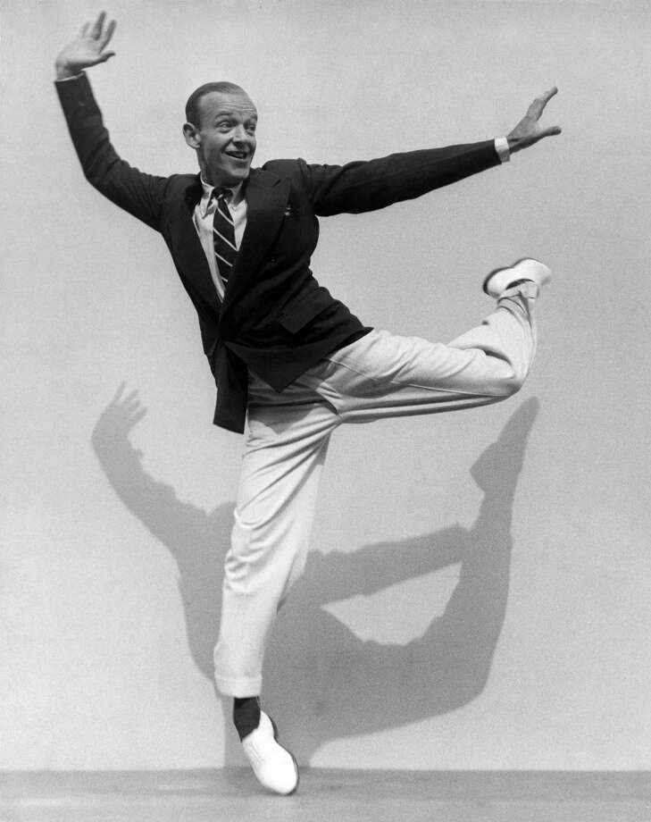 Fred Astaire -- pleasing light baritone, whether talking or singing. Photo: Martin Munkacsi