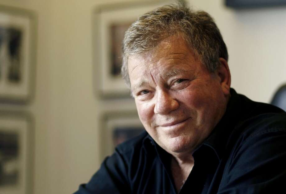 William Shatner -- great voice, notable for its great delivery.  If you want TO imitate Shatner JUST emphasize the wrong words IN a sentence. Photo: Matt Sayles, Associated Press