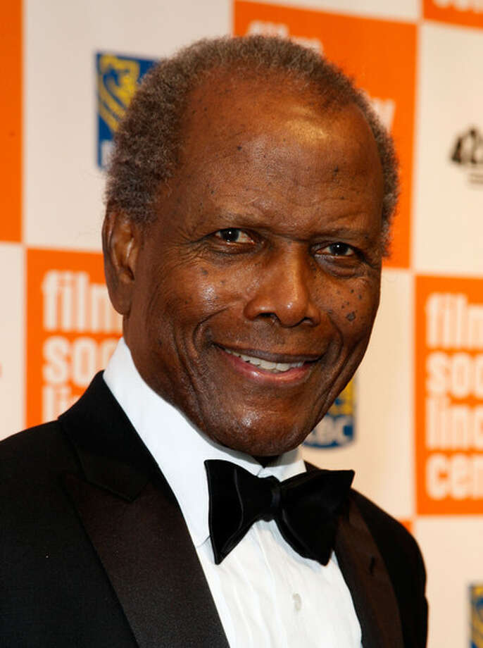 Sidney Poitier -- beautiful voice with just a hint of the Bahamas. Photo: Getty Images