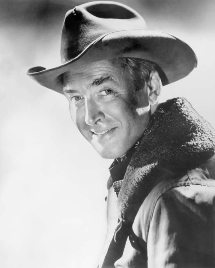 James Stewart -- yup, yup, yup. Photo: PHOTO CREDIT:, Universal Pictures Co.