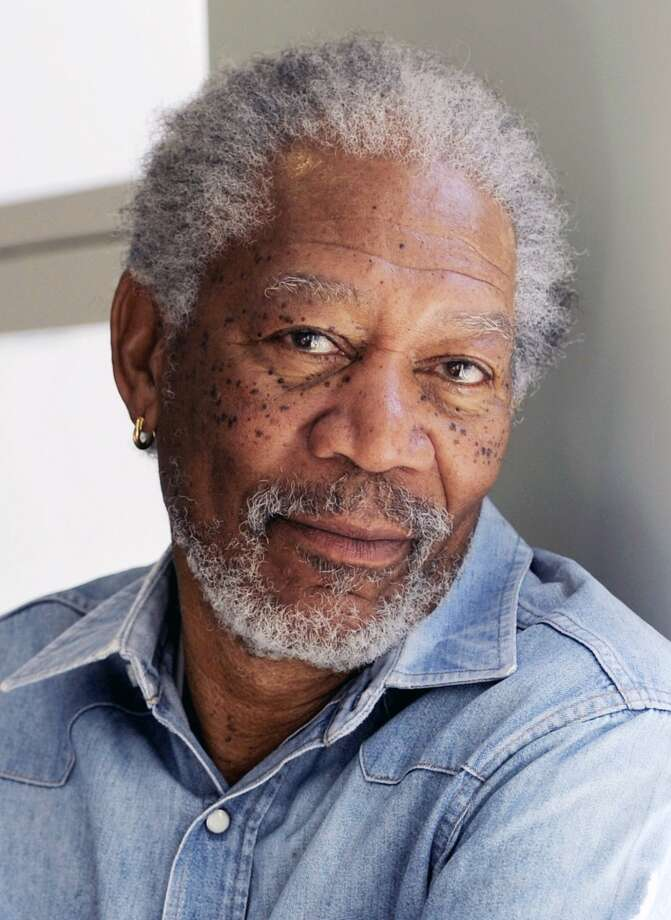 Morgan Freeman -- one of a kind, hard to imitate and unmistakable. Photo: Chris Pizzello, Associated Press