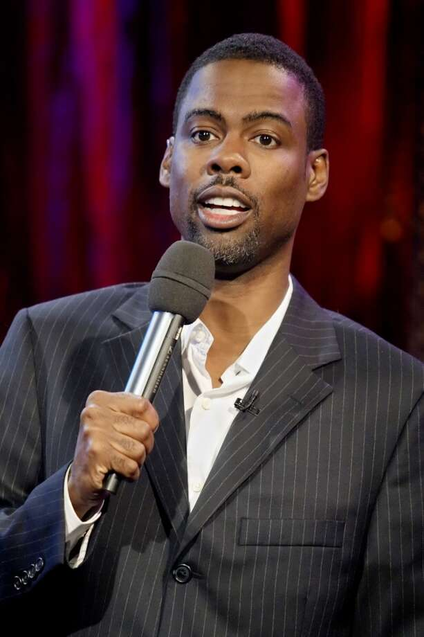 Chris Rock -- in a constant state of exasperation and amazement. Photo: ADAM ROUNTREE, AP