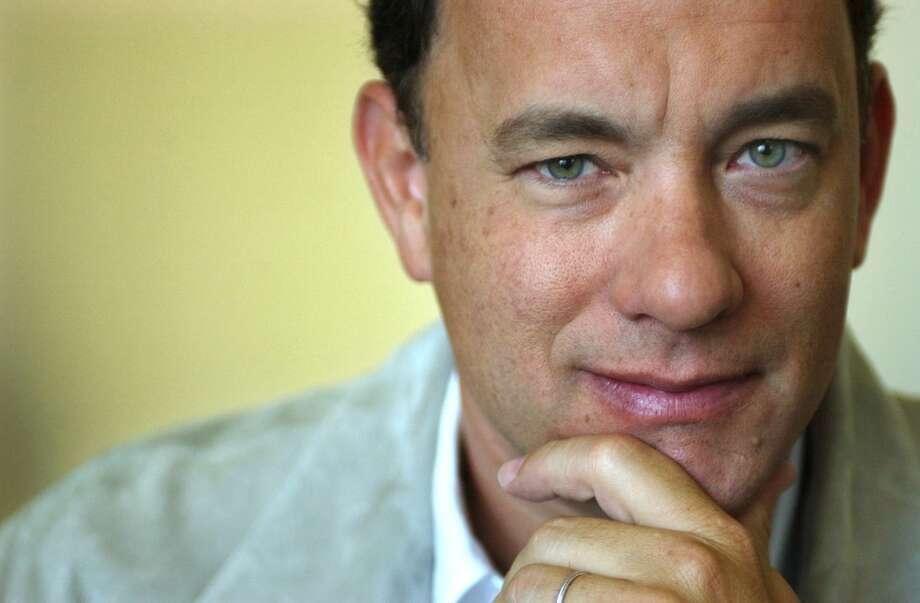 Tom Hanks -- a husky voice of reason. Photo: AYNSLEY FLOYD, AP