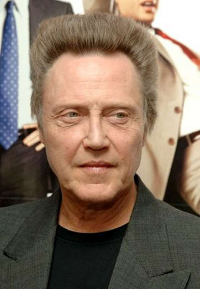 Actor Christopher Walken has a home in Wilton. More Cowbell, anyone? Photo: Wire Image