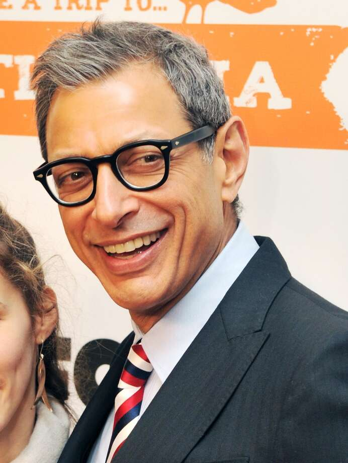 Jeff Goldblum -- a great ability to sound almost reasonable while saying crazy things. Photo: Stephen Lovekin, Getty Images