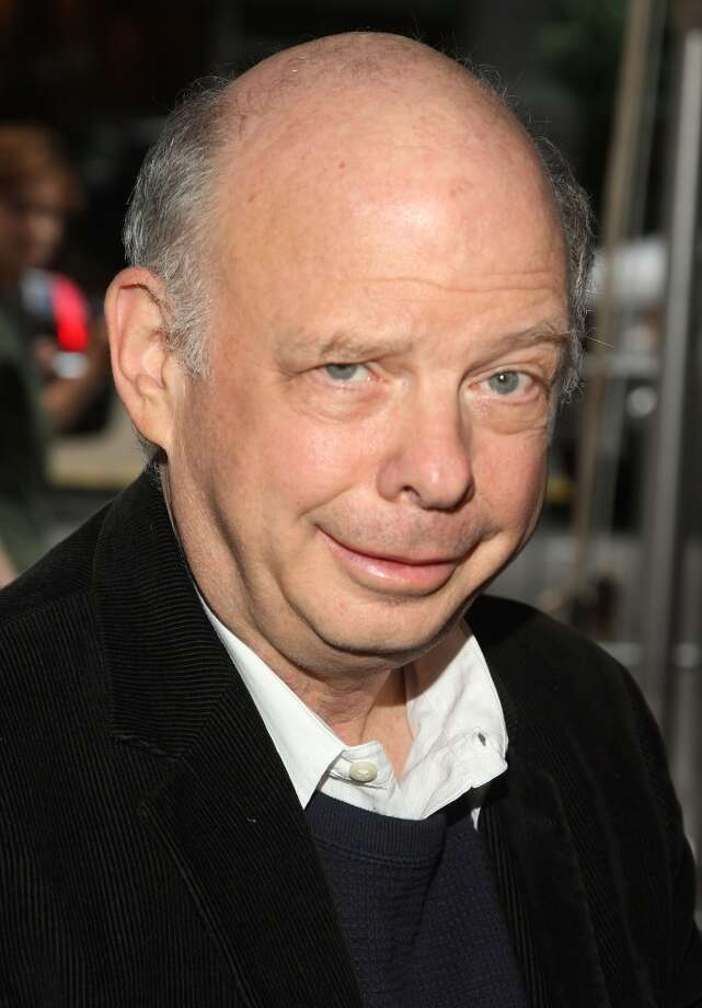 Wallace Shawn -- high pitched, sputtering, often used intentionally for comic effect -- and distinctive. Photo: Stephen Lovekin, Getty Images