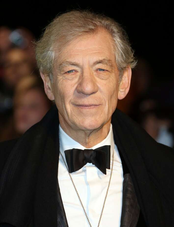 Ian McKellen -- the voice of Gandalf. Photo: Getty Images
