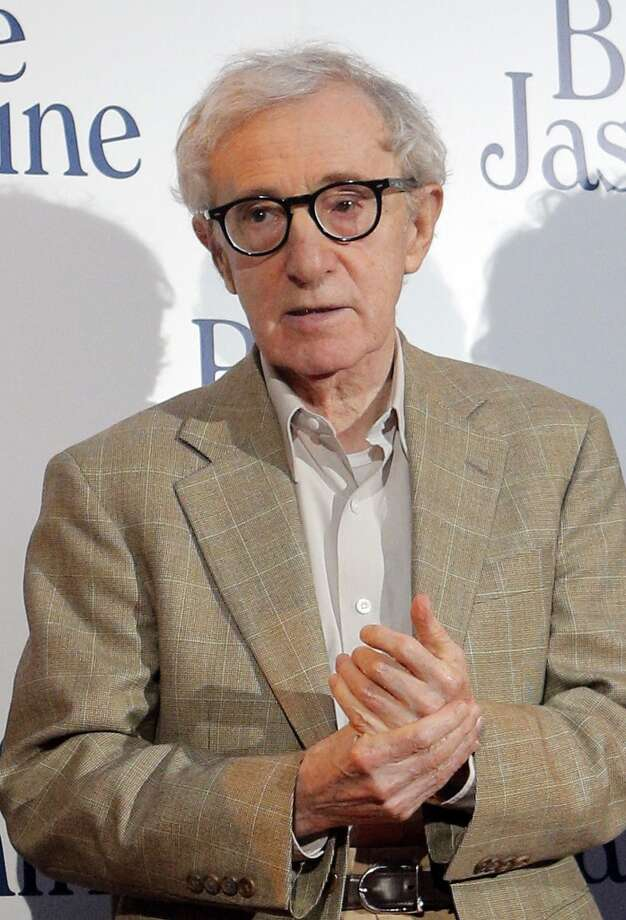 Woody Allen -- say the name and you hear the voice.  He's so contagious that his actors end up imitating him. Photo: Christophe Ena, Associated Press