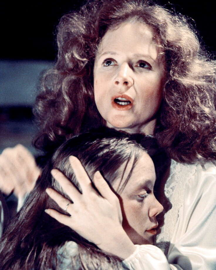 Piper Laurie -- a stentorian voice that could be used for terrifying effect, notably in CARRIE. Photo: Silver Screen Collection, Getty Images / 2012 Silver Screen Collection