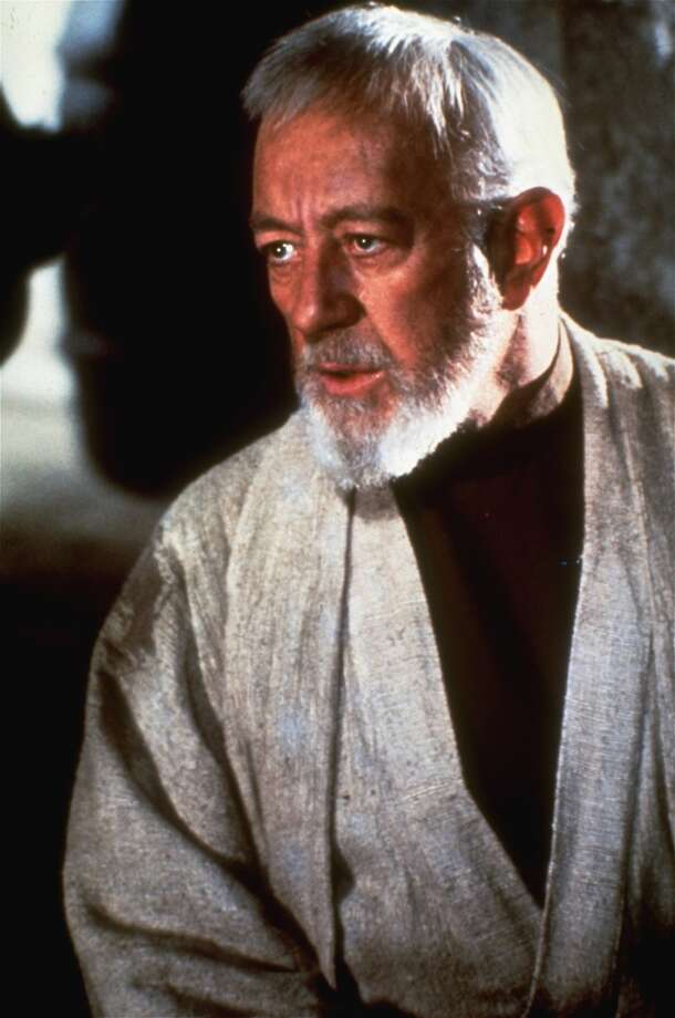 Alec Guinness -- unmistakable British voice. Photo: HANDOUT, SFC