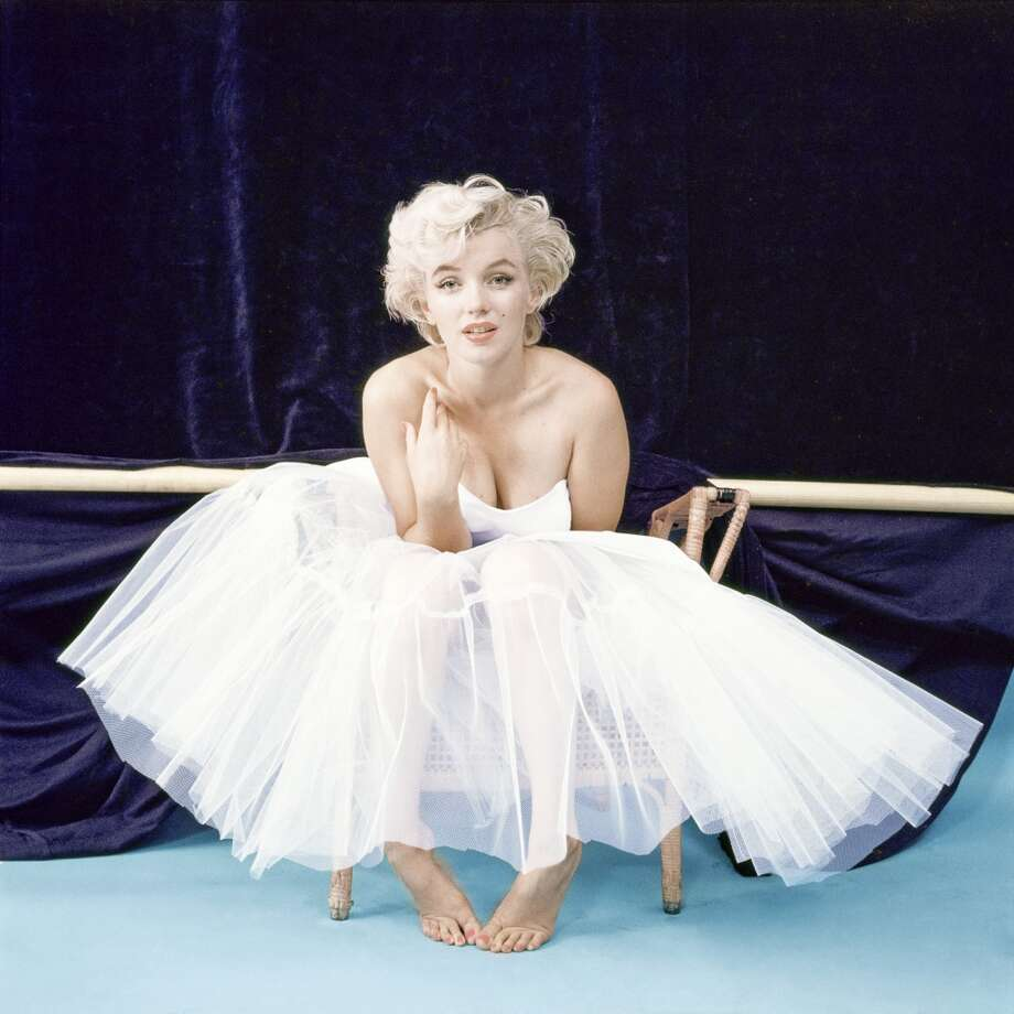 Marilyn Monroe -- a flexible voice, sometimes deep, especially when singing, sometimes soft, wonderfully expressive. Photo: Milton H. Greene ©2012, Archiveimages.com / HBO