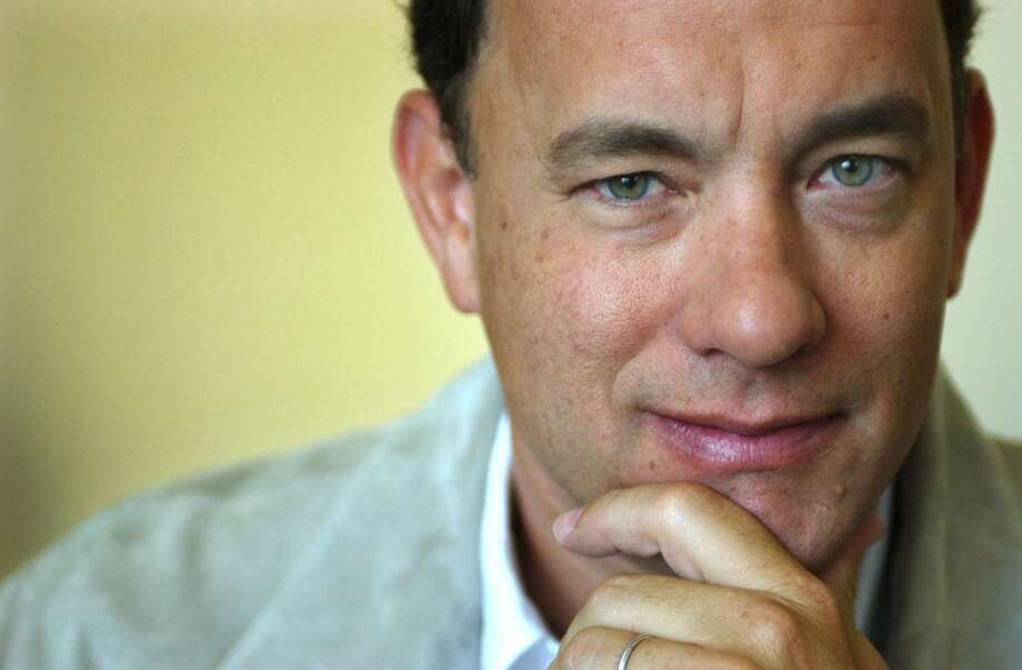 Tom Hanks -- a husky voice of reason. Photo: AYNSLEY FLOYD, AP