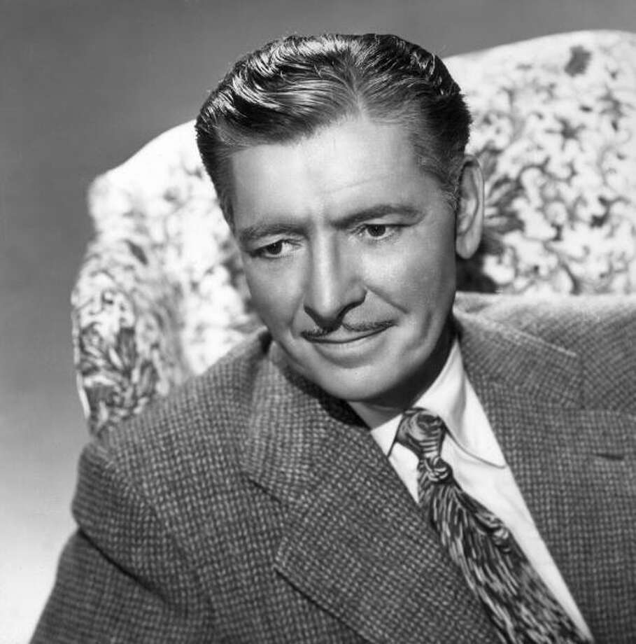 British-born actor Ronald Colman (1891 - 1958).  His career took off as soon as sound came in and people heard what he sounded like. Photo: Hulton Archive, Getty Images / Archive Photos