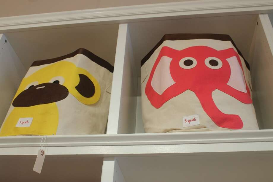 Fun and super-affordable canvas storage bins for playroom or bedroom...maybe the kids will even pick up their toys (wishful thinking....).