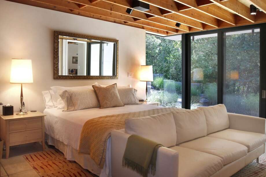 Master bedroom with view. Photos via Sotheby's/Ginger Martin