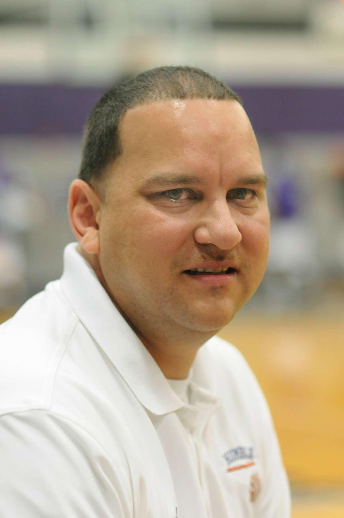 Atascocita Head Boys Basketball Coach David Martinez