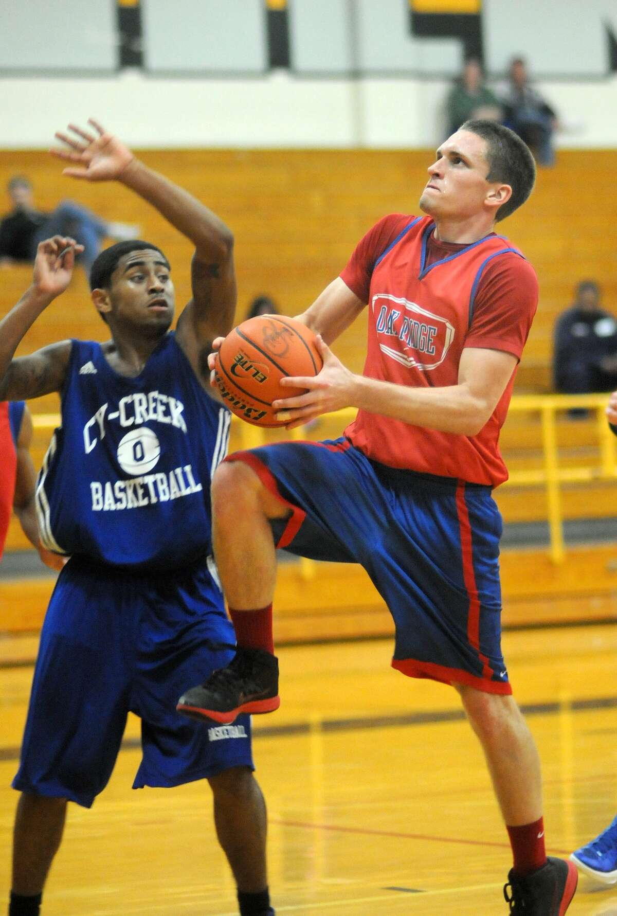 Oak Ridge senior guard Tanner Doyle was a first-team all-district pick the last two years.