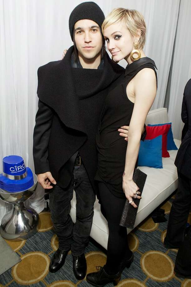 Ashlee Simpson and Pete Wentz (pictured at a New Year's Eve celebration in 2010-2011) split in 2011 after three years of marriage and Wentz recently admitted to Rolling Stone Magazine that it began a period of depression and prescription drug abuse for him. Wentz is now clean and credits his friendship with his former wife and their love of son Bronx with getting his life back together. Now if only Ashlee could teach her sister Jessica how to stay friends with her many exes... Photo: Jeff Schear, Getty Images