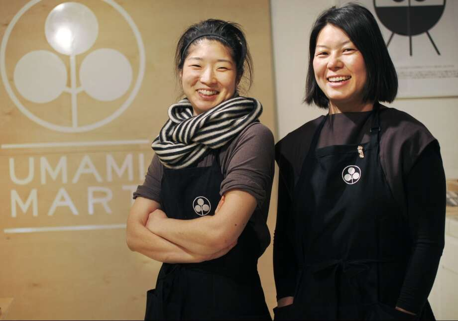 Co-founders Yoko Kumano, 32, left, and Kayoko Akabori, 33. Photo: Leah Millis, The Chronicle