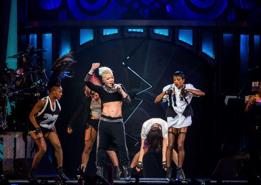 P!nk performs as part of her Truth About Love tour.