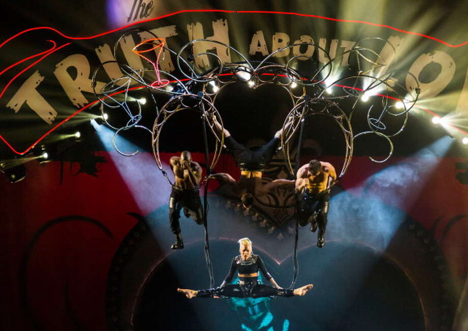 P!nk brings her national tour to San Antonio, Nov. 14 at the AT&T Center. The 30-stop tour kicked off in Seattle in October and will conclude Brooklyn.  / 2013 Scott Legato