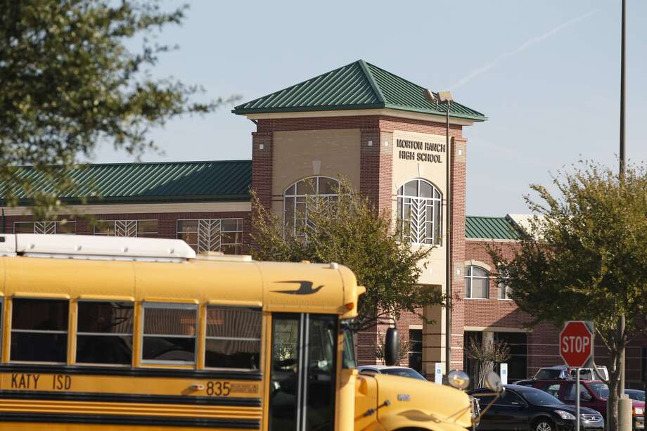 Students attend school at Morton Ranch High School Monday. Photo: Johnny Hanson, Houston Chronicle