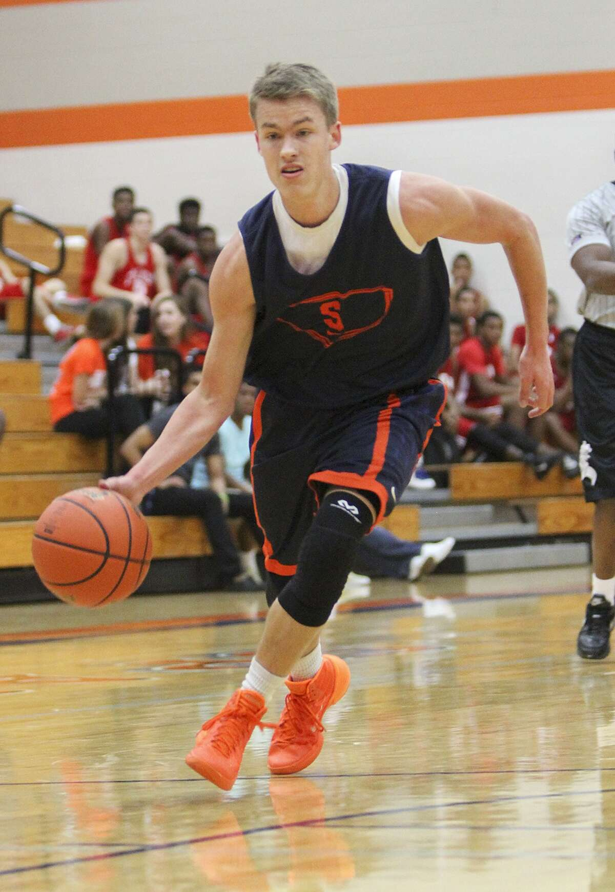 Seven Lakes' point guard King Turnbull is one of three senior team captains for the Spartans this year.