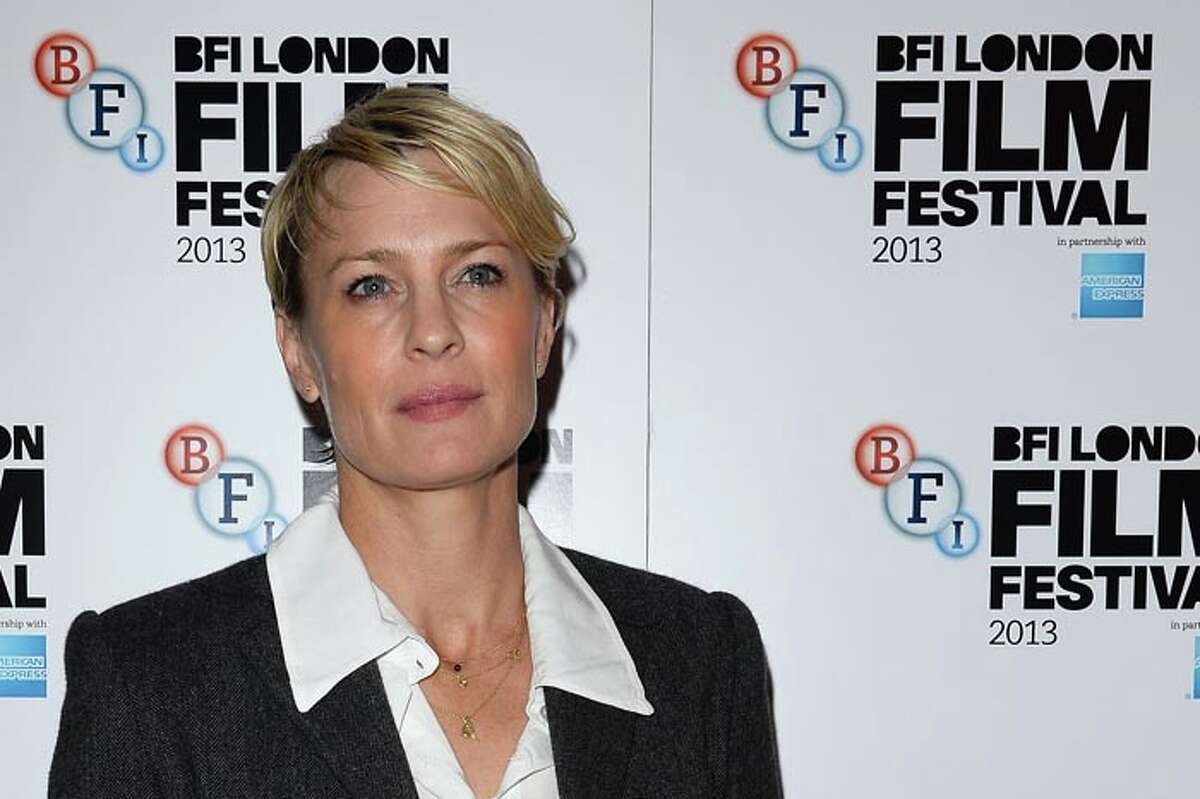 She may have chopped off her hair and gotten all serious, but Robin Wright will always be ...